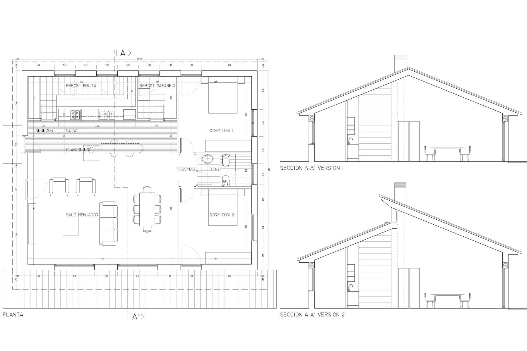 Casa-Sales-Prefabricated-Single-Family-House-Sales-de-Llierca-Girona-02Casa-Sales-Prefabricated-Single-Family-House-Sales-de-Llierca-Girona-02